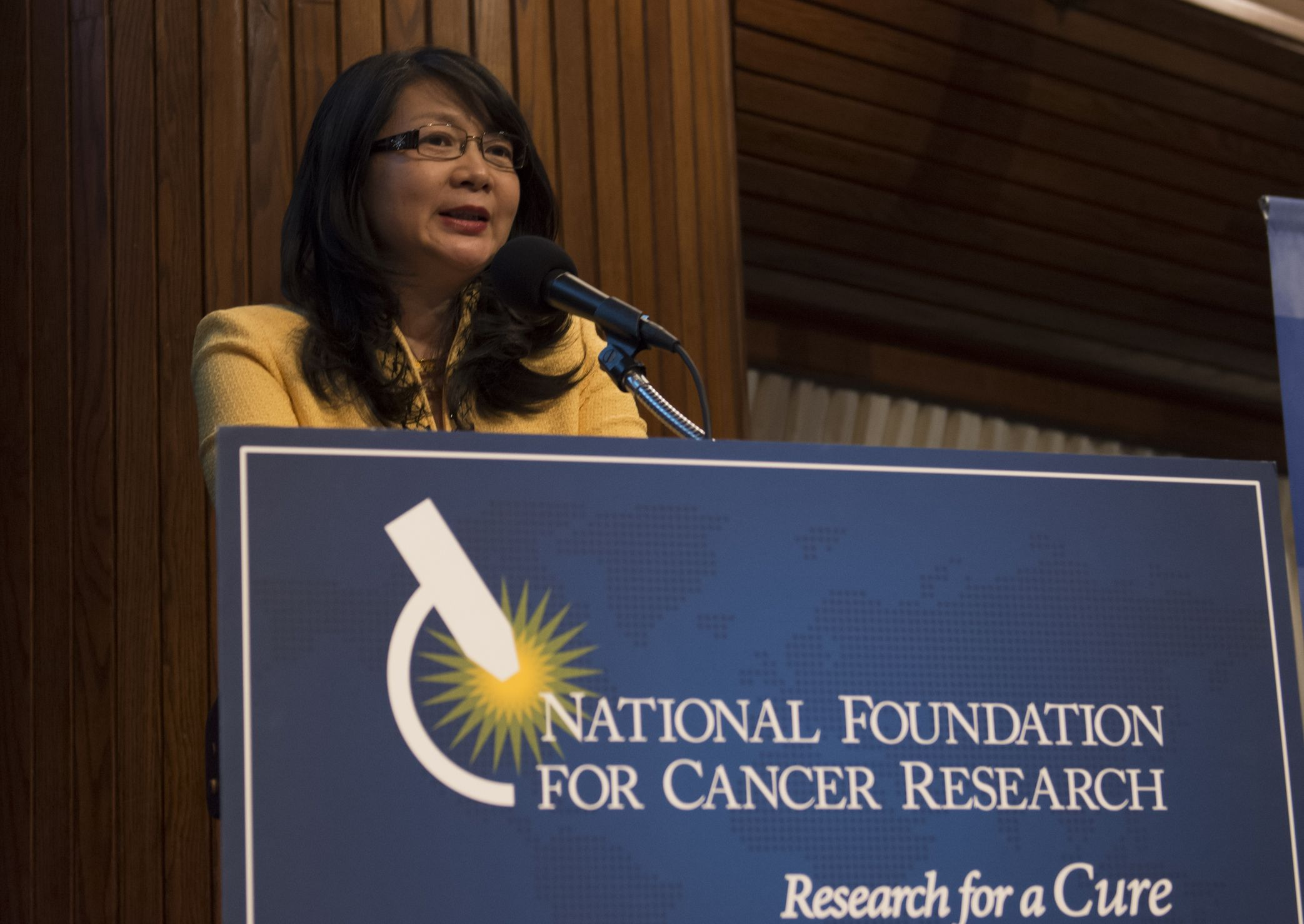 """As NFCR President stated in her closing address, """"What a remarkable evening!"""""""