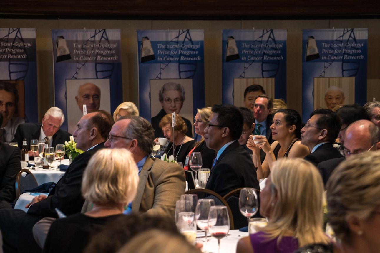 Attentive guests take in the exciting panel discussion