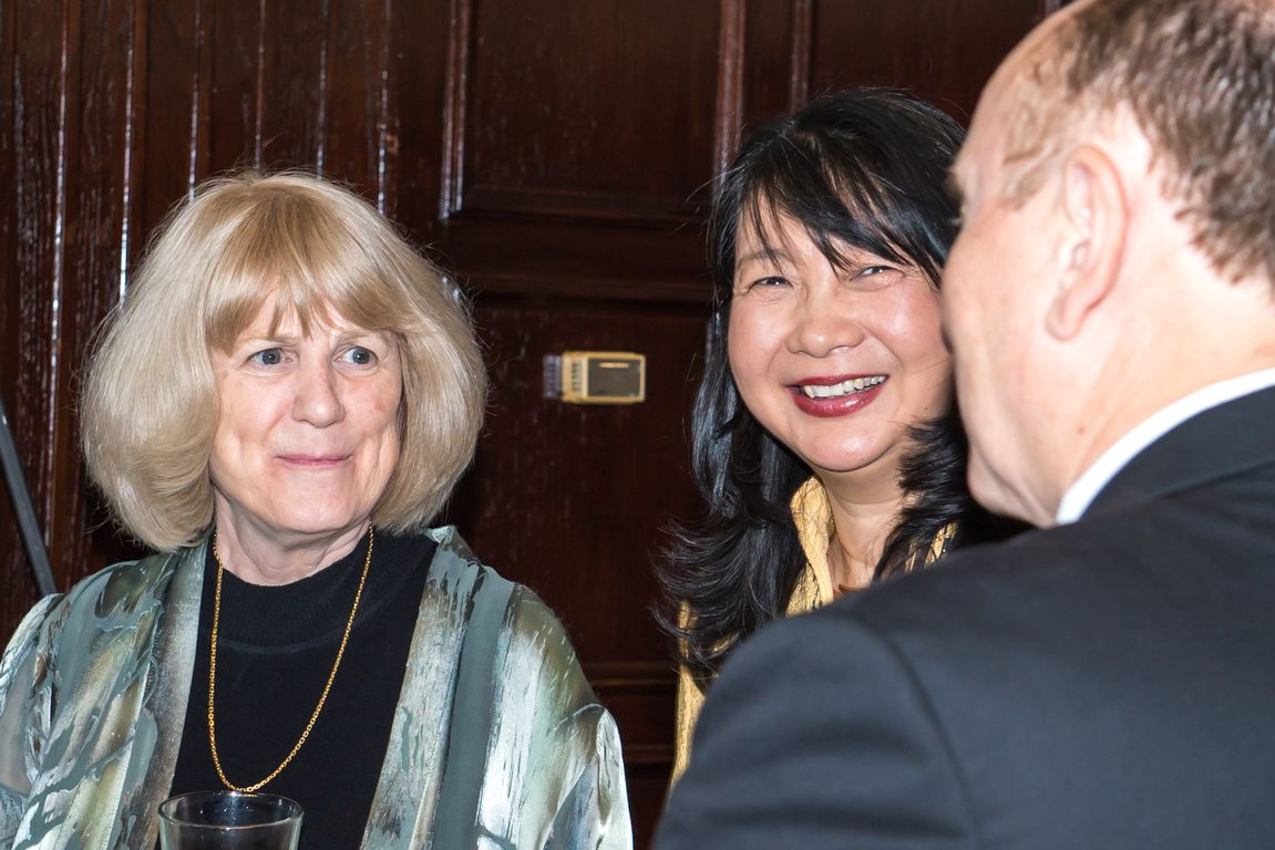 Dr. Mary-Claire King and NFCR President Dr. Sujuan Ba