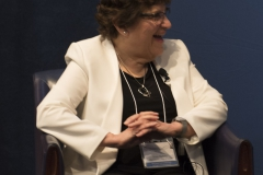 Panel member NFCR scientist, Dr. Susan B. Horwitz, delights in a response