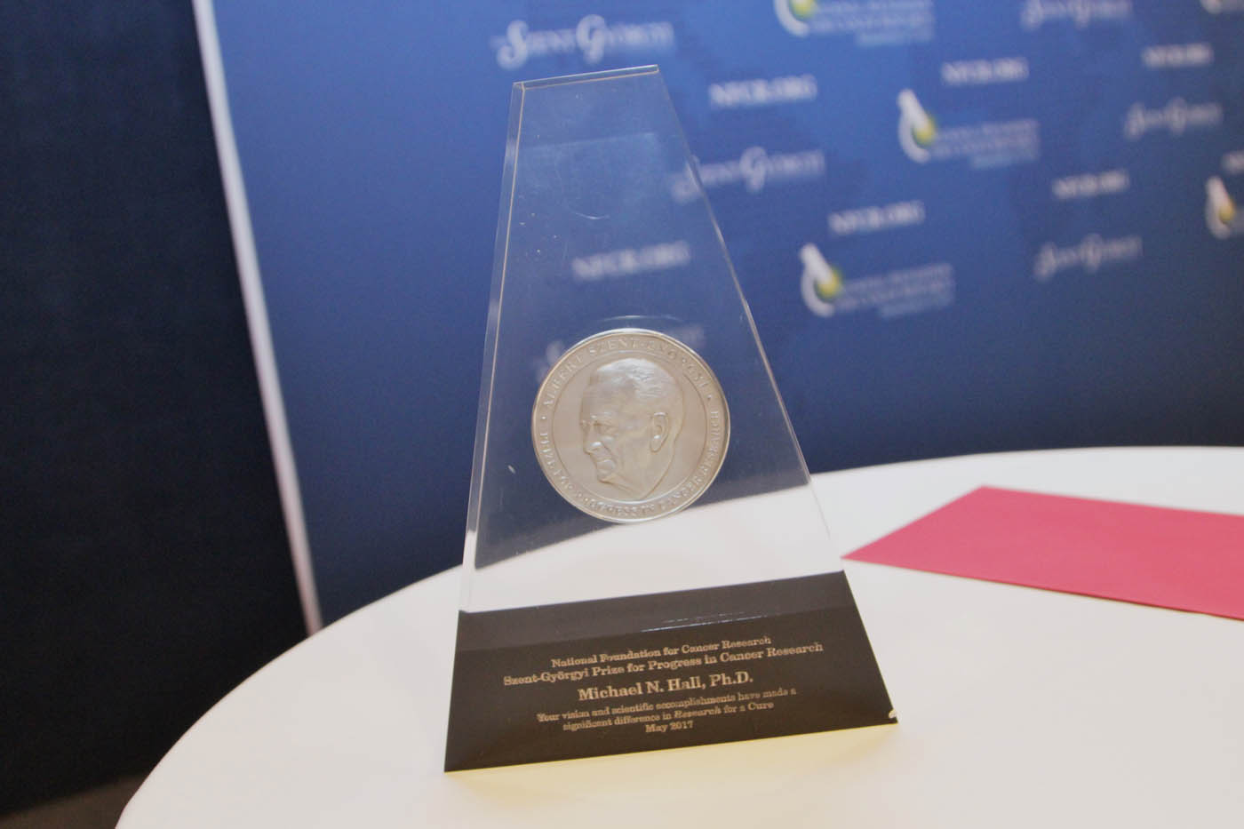 The Szent-Györgyi Prize for Progress in Cancer Research