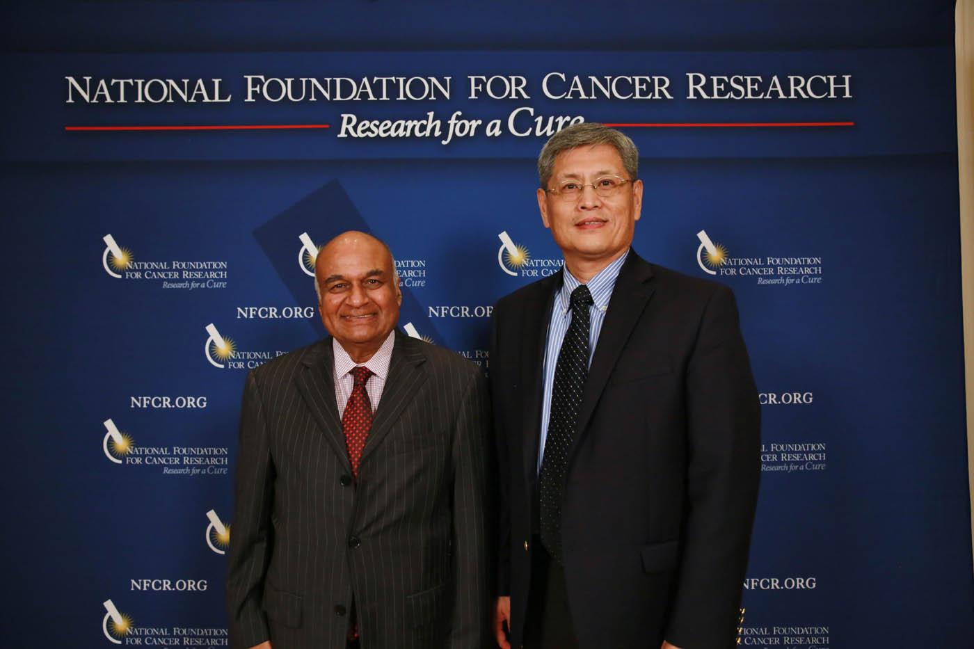 NFCR's Dr. Michael Wang & Harvard's Dr. Raju Kucherlapati