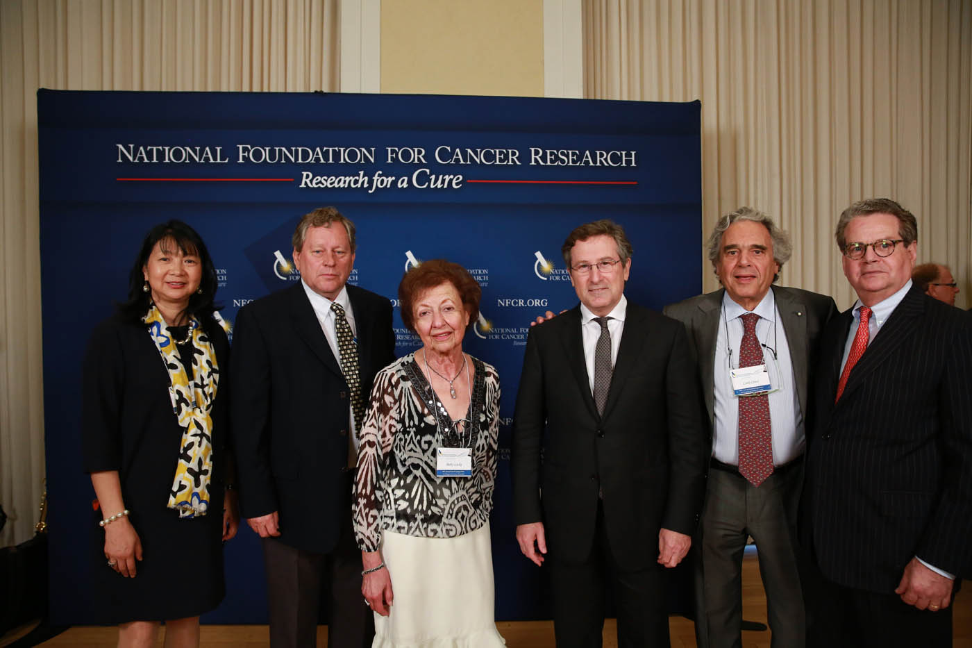 NFCR supporter Betty Locke with past Szent-Györgyi Prize winners