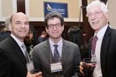Paley Rothman's Roy Nidermayer meeting Lee Greenberger and Javeed Froozan of the Lekemia & Lymphoma Society