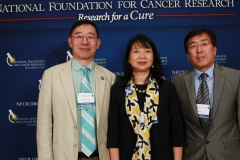 Frank Li and Xu-Rong Jiang from Chinese Biopharmacetical Associaition with Dr. Sujuan Ba