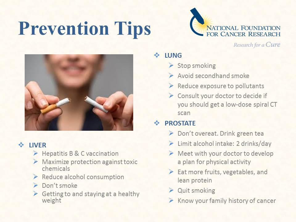 cancer prevention A healthy diet can help you prevent or fight cancer these tips will get you started.