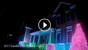 holiday lights video image