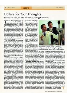 Dollars for Your Thoughts
