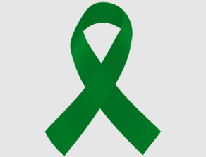 Emerald Green Liver Cancer Ribbon