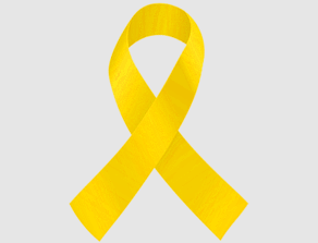 Yellow Sarcoma Ribbon