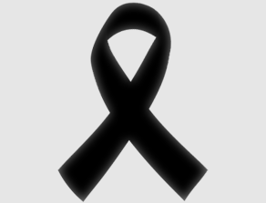 Black Skin Cancer Ribbon