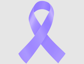 Orchid Testicular Cancer Ribbon