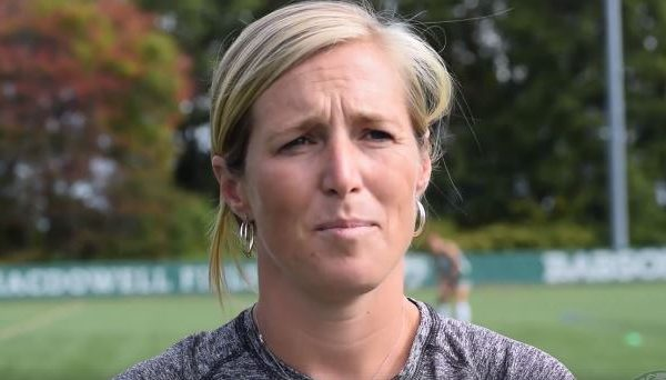 Babson NEWMAC Field Hockey Coach Julie Ryan