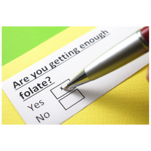 checklist for folate