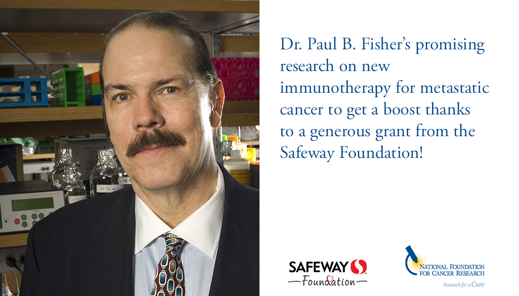 Safeway NFCR Paul Fisher collaboration