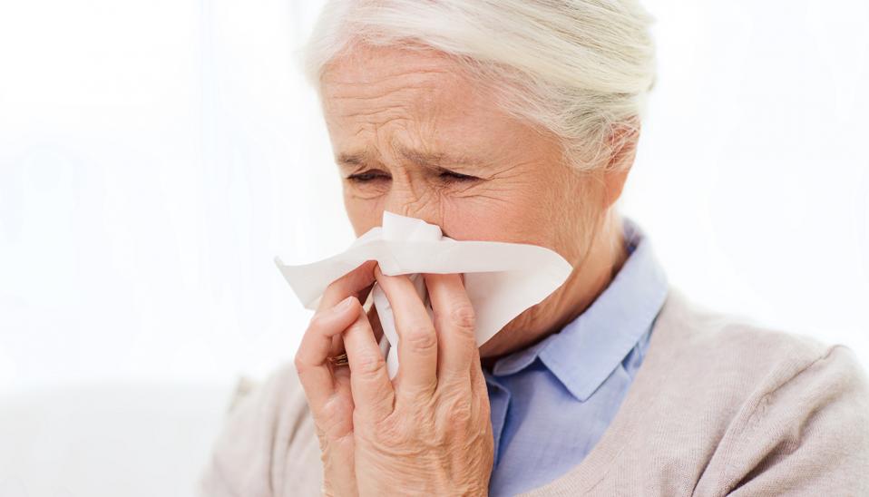 Flu fighting cancer