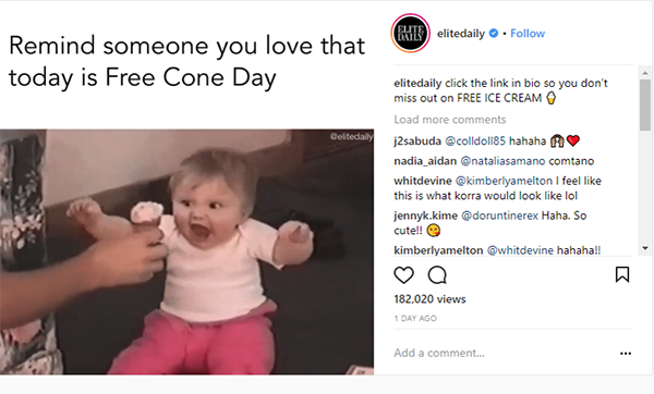 Free Cone Day