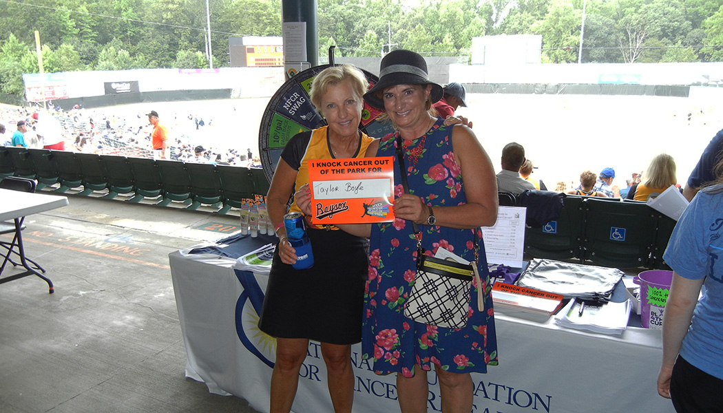 Bowie Baysox Knock Cancer Out of the Park