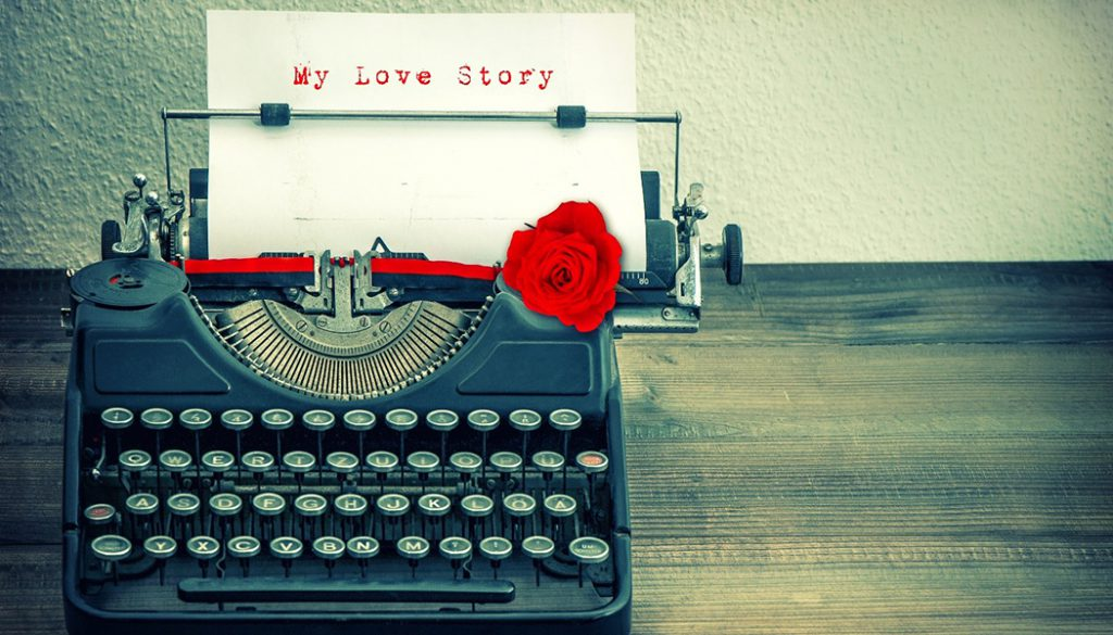 Love Story typewriter
