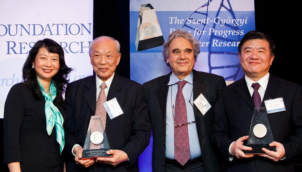 Szent-Györgyi Prize Winners Zhen-Yi Wang & Zhu Chen