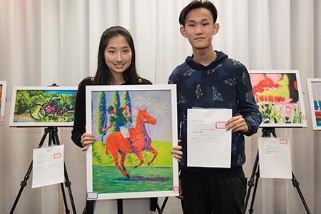 Youth Art Bridge led by Tina Zhang