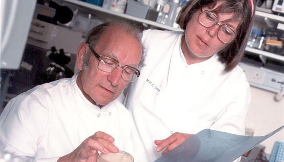 Dr. Cesar Milstein, mAbs researcher