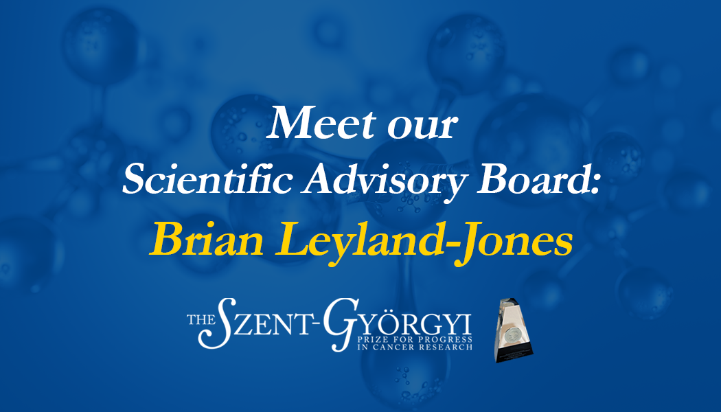Meet Scientific Advisory Board Member Brian Leyland Jones