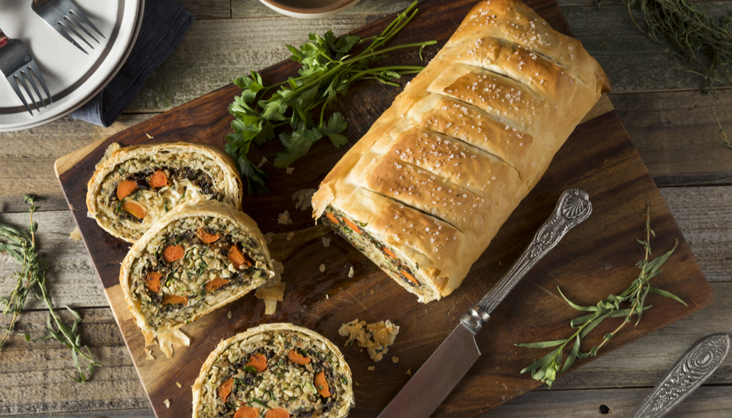 vegetarian wellington recipe
