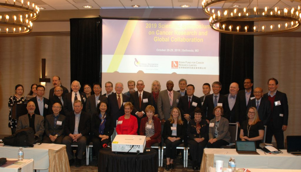 2019 NFCR and AFCR Scientific Symposium attendees