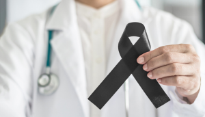 Skin Cancer Awareness Ribbon
